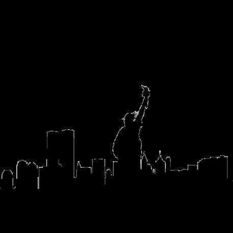 Sticker d'co New York