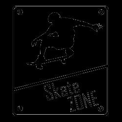 Sticker skate - Le Panneau