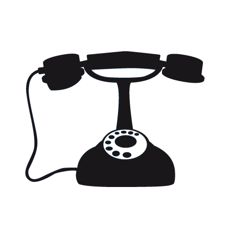 Sticker telephone