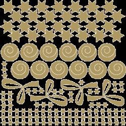 Stiker d'cor Noel - Kit 3