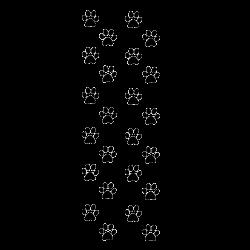 Sticker pattes de chats