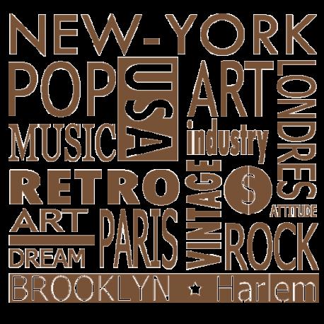 Sticker New-York - Stickers Textes