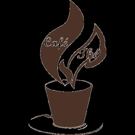 Sticker cuisine thé et café