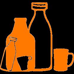 Stickers bouteilles et tasses