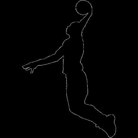Sticker basketteur - Joueur n2