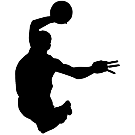 Sticker Basketball - Joueur n 4