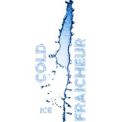 Sticker Frigo - Glacé Givré