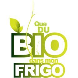 Sticker Frigo - Que du Bio...