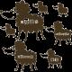 Stickers moutons enfants