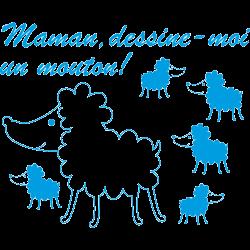 Stickers dessine moi un mouton
