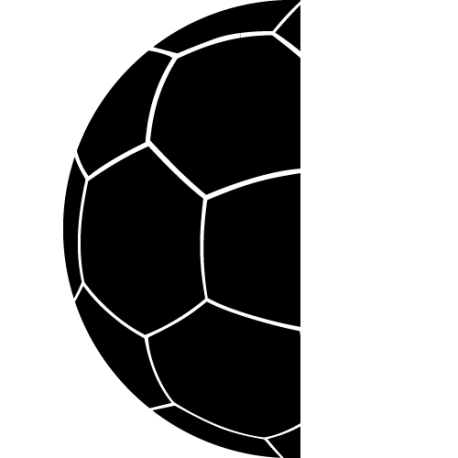 Sticker foot g'ant - Demi Ballon