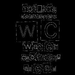 Stickers abattant de wc avec mots