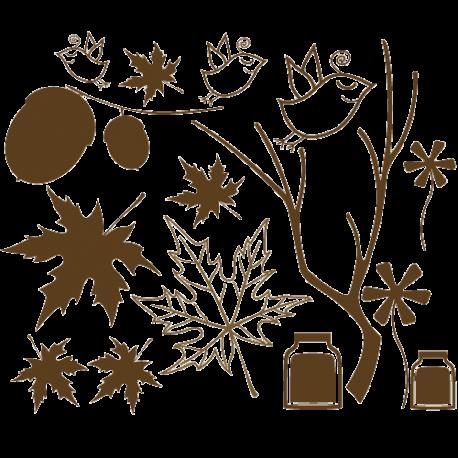 Sticker cuisine - d'coration champetre