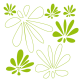 Stickers meubles - Fleurs