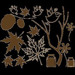 Stickers branches et oiseaux