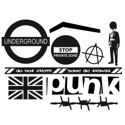 Stickers Londres - Kit Mono