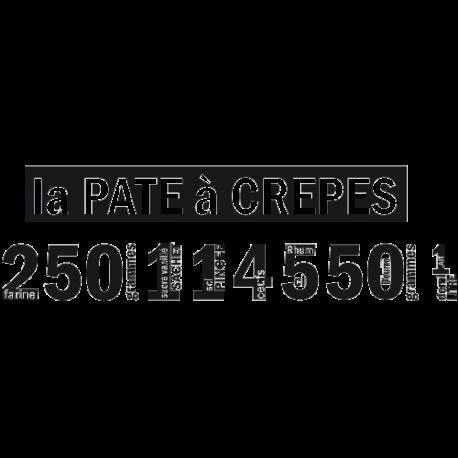 Stickers originaux recette pate