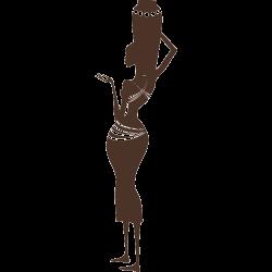 Sticker africain - La femme africaine