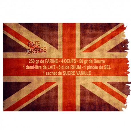 Stickers drapeau anglais vintage