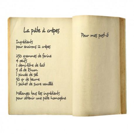 Sticker livre avec recette