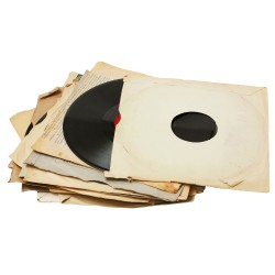 Sticker retro - Les vinyles