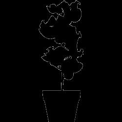 Stickers Pot - Plante 1