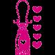 Stickers Princesse - Lanterne