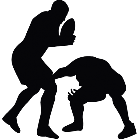 Sticker Rugby - Rugbimen