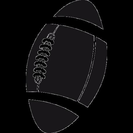 Sticker ballon Rugby