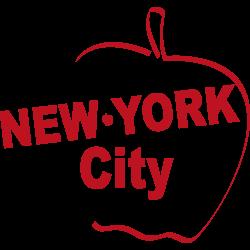 Stickers New York la Pomme