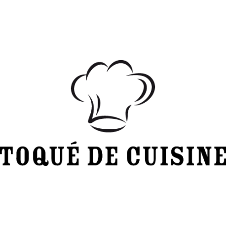Stickers toque de cuisinier avec textes pour cr dence et for Stickers phrase cuisine