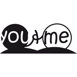 Sticker pour chambre : YouMe