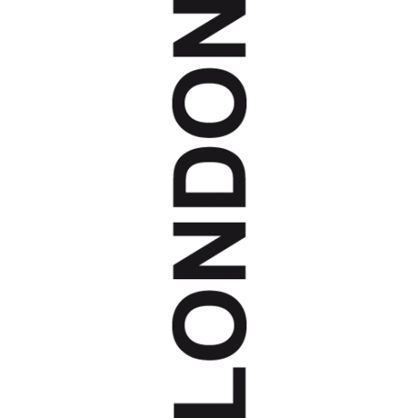 Sticker texte Londres - LONDON