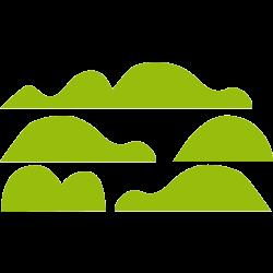 Stickers meubles enfant - Verdure