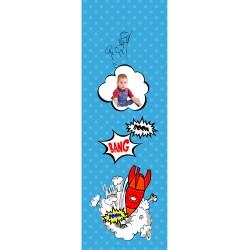 Sticker de porte personnalis' avec votre Photo - BD