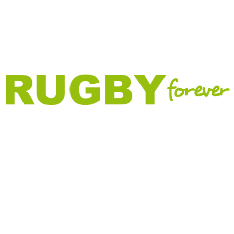 Stickers rugby texte Rugby forever