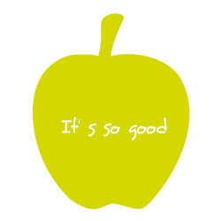 Sticker cuisine Pomme It's so