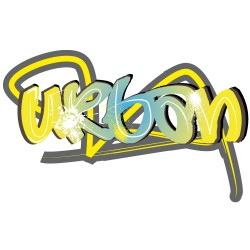 Sticker tag urban