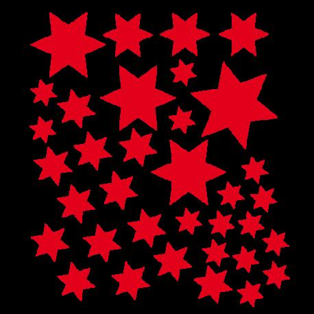 Stickers petites étoiles