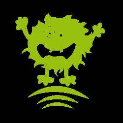 Sticker enfant monstre C