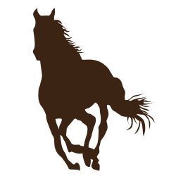 Sticker de cheval