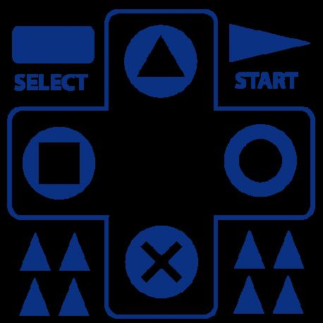 Stickers mini jeux video