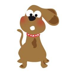 Stiker Chien Doggy