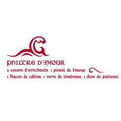 Sticker Philtre d'amour