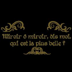 Sticker Miroir o mon Miroir