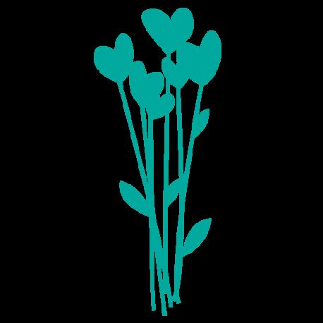 Stickers Coeurs Le Bouquet