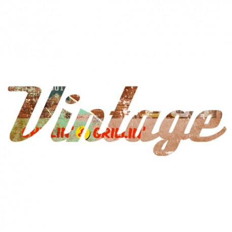 Stickers Texte Vintage