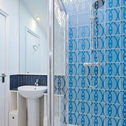 Stickers portes de douche Vagues