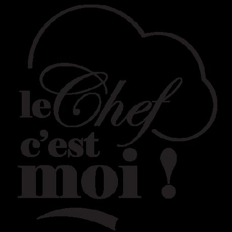 Sticker toque chef de cuisine
