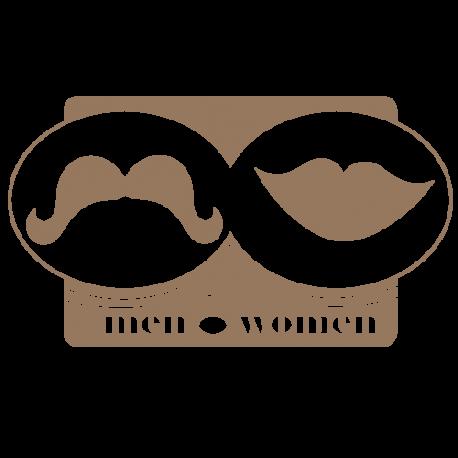 Stickers de WC homme femme